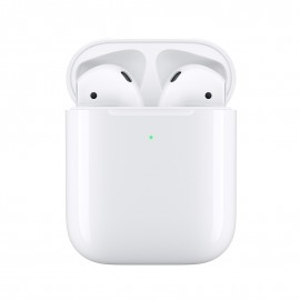 Apple AirPods Headphone Wireless Charging Case 2019 white MRXJ2ZM/A