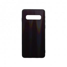 Plastové puzdro Gradient Samsung Galaxy S10 tmavofialové