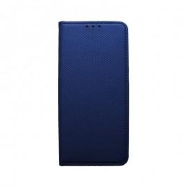 Knižkové puzdro Huawei Y5 2019 tmavomodré, vzorované
