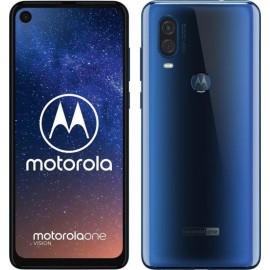 Motorola One Vision 4GB/128GB Dual SIM, Modrá - Slovenská distribúcia