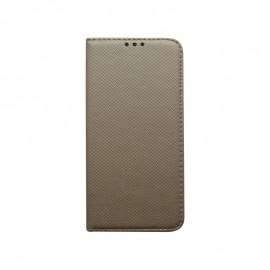 Knižkové puzdro Nokia 1 Plus zlaté, vzorované