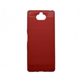 Puzdro EPICO CARBON Sony Xperia 10 červené