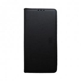 Knižkové puzdro Samsung Galaxy A20e čierne, vzorované