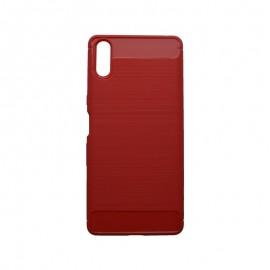 Puzdro EPICO CARBON Sony Xperia L3 červené