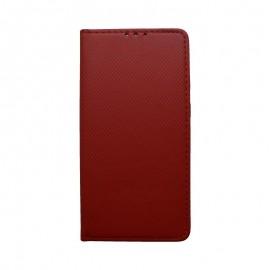 Knižkové puzdro Samsung Galaxy A20e červené, vzorované