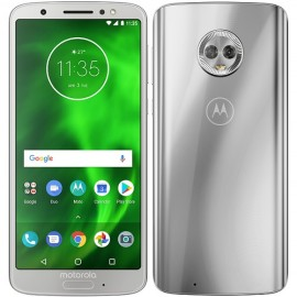 Motorola Moto G6 3GB/32GB Dual SIM, Strieborný - SK distribúcia