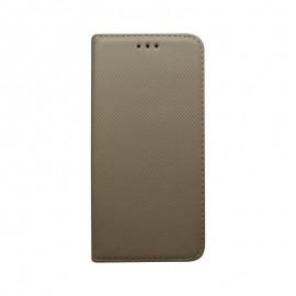 Knižkové puzdro Huawei Mate 20 Pro zlaté, vzorované