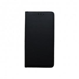Knižkové puzdro Xiaomi Mi 9 SE čierne, vzorované