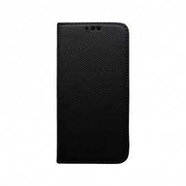 Knižkové puzdro Moto G7 Play čierne, vzorované