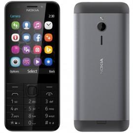 Nokia 230 Dual SIM, Tmavo-strieborný - SK distribúcia