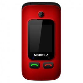 Mobiola MB610 SENIOR FLIP Dual SIM Červený