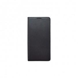 Knižkové puzdro Nokia 4.2 čierne, vzorovaný povrch