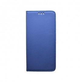 Knižkové puzdro Samsung Galaxy A80 tmavomodré, vzorované