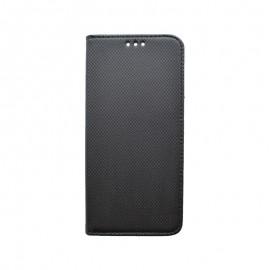 Knižkové puzdro Samsung Galaxy A80 čierne, vzorované