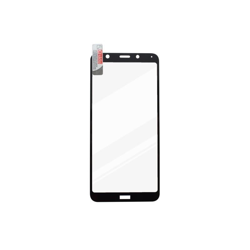Ochranné sklo Xiaomi RedMi 7A čierne, full glue, Q sklo