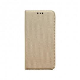 Knižkové puzdro iPhone 5 zlaté vzorované