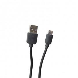 Micro USB kábel čierny 1m 2A