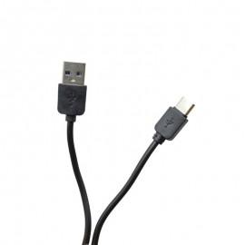 USB-C kábel čierny 1m 2A
