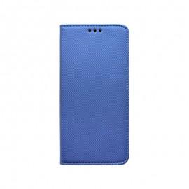 Knižkové puzdro Samsung Galaxy A70 tmavomodré, vzorované