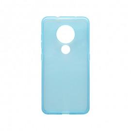 Silikónové puzdro Nokia 7.2 svetlomodré, nelepivé
