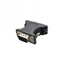 Adaptér DVI (24+5) na VGA samicu, čierny