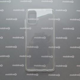 Silikónové puzdro Samsung Galaxy A51 priehľadné, nelepivé