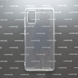 Silikónové puzdro Samsung Galaxy A71 priehľadné, nelepivé