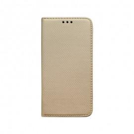Knižkové puzdro Samsung Galaxy S20e zlaté vzorované