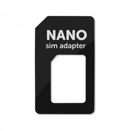Nano SIM - SIM adaptér čierny