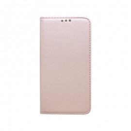 Knižkové puzdro Samsung Galaxy A40 medené vzorované