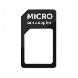 Micro SIM - SIM adaptér čierny