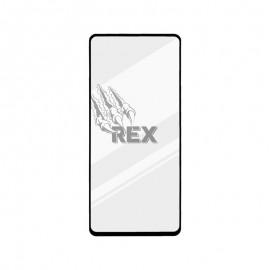 Ochranné sklo REX Silver Samsung Galaxy A51 čierne, full glue