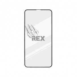 Ochranné sklo REX Silver iPhone 11 Pro Max čierne, full glue