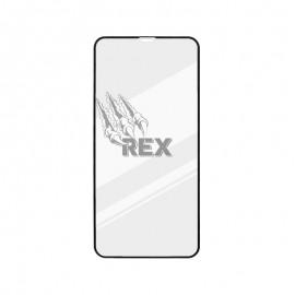 Ochranné sklo REX Silver iPhone 11 čierne, full glue
