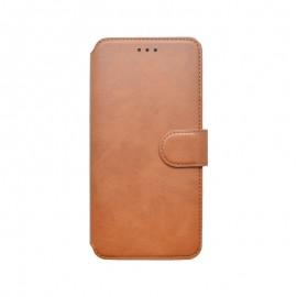 Knižkové puzdro 2020 Samsung Galaxy A71 tmavohnedé