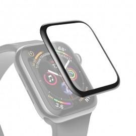 Ochranné sklo pre Apple Watch 38mm čierne, full glue