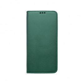 Knižkové puzdro Smart Samsung Galaxy A71 tmavozelené