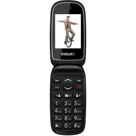 Evolveo EasyPhone FD - telefón pre seniorov, čierny - SK distribúcia