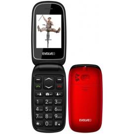 Evolveo EasyPhone FD - telefón pre seniorov, červený - SK distribúcia
