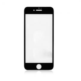 Tvrdené gorilla sklo iPhone SE 2020, Čierne