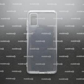 Silikónové puzdro Samsung Galaxy A41 priehľadné nelepivé