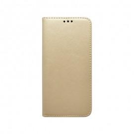 Samsung Galaxy A30 čierna Smart knižkové bočné puzdro, zlatá