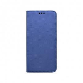 Samsung Galaxy A21 bočná knižka modrá, vzorovaná