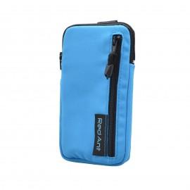 4XL modré Outdoorové Softshell puzdro RedAnt vrecko
