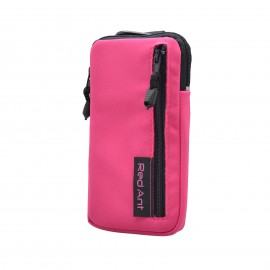 4XL ružové Outdoorové Softshell puzdro RedAnt vrecko