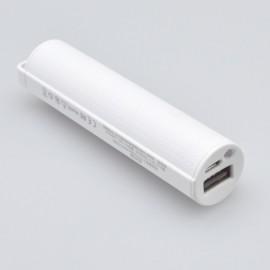 Power Bank - externá batéria 2200 mAh, biela