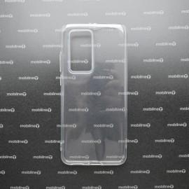 Silikónové puzdro Huawei P40 Pro priehľadné nelepivé