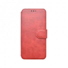 Huawei P40 Lite červená bočná knižka, 2020