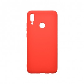 Huawei P Smart 2020 červené matné  gumené puzdro