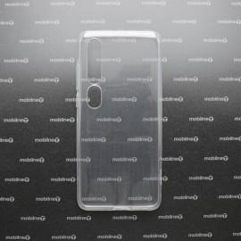 Xiaomi Mi 10 priehľadné gumené puzdro, nelepivé